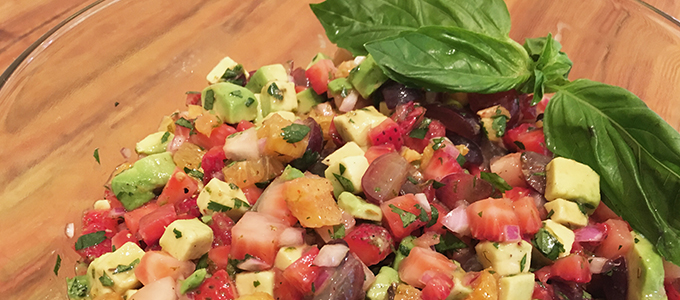 Avocado & Strawberry Salsa