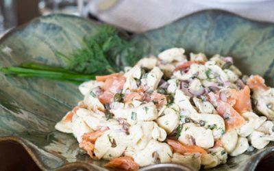 Smoked Salmon & Tortellini Salad