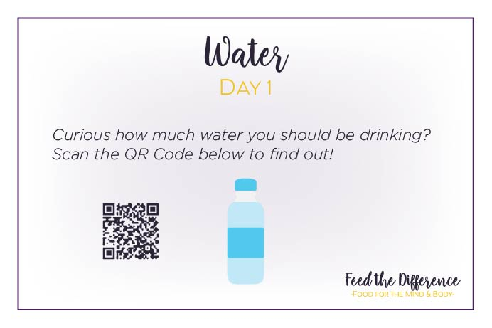 FTD – Day 1 – Water