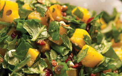 Kale & Butternut Chopped Salad