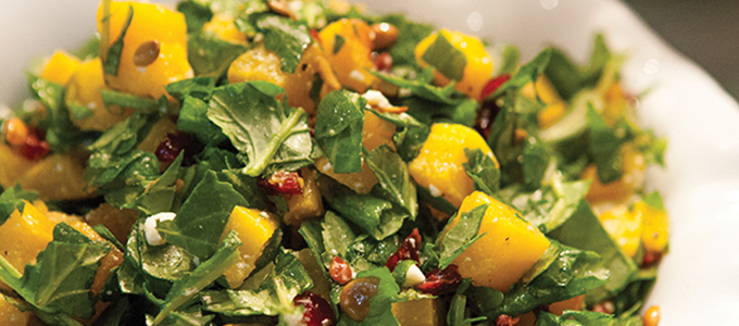 Kale & Butternut Chopped Salad