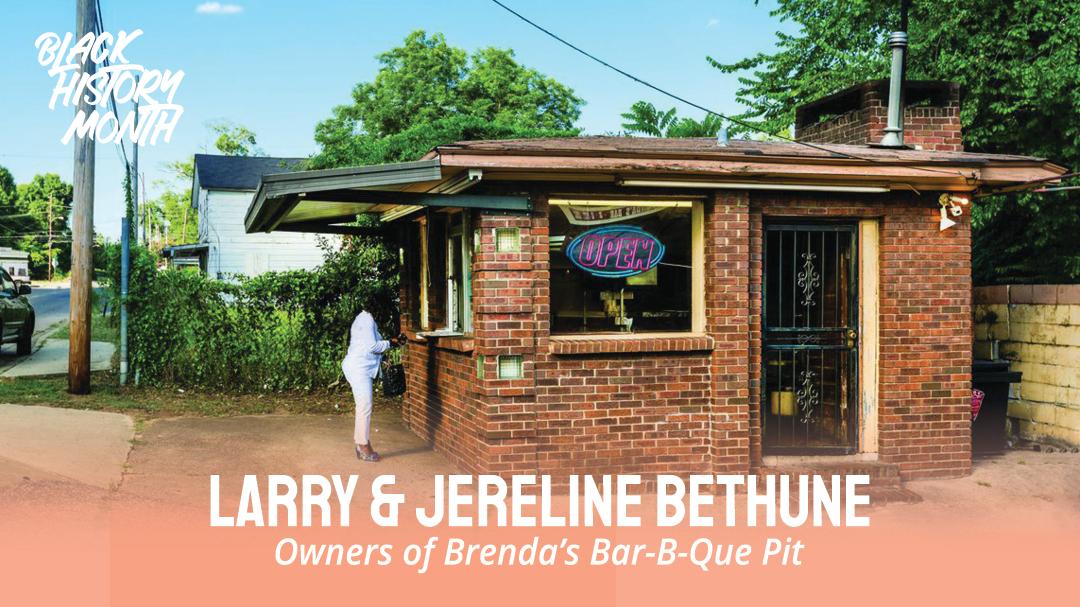 Black History Month – Larry & Jereline Bethune